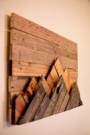 25 best ideas about wood art on pallet wall