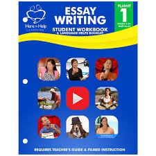 flight essay writing student workbook here to help learning store