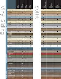Universal Products Vinyl Color Chart Truewall Vinyl Siding Products Accessories