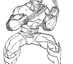 Small Picture Wolverine Coloring Pages Best Coloring Pages adresebitkiselcom