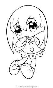 Disegno Manga11 Personaggio Cartone Animato Da Colorare