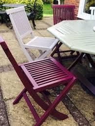 Garden Furniture Makeover Using Cuprinol Fresh Rosemary Paint
