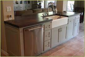 kitchen island ideas with sink. Superb Design Of The Kitchen Island With Grey Color Ideas Added White Sink And Black I