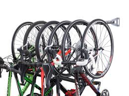 6 Bike Storage Wall Mounted Bike Rack