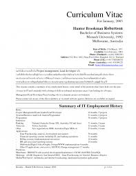 Resumees And Interests Examples Employee Appraisal Form Sample To