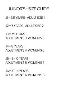 Native Shoes Size Chart Native Shoes Monaco Low Juniors