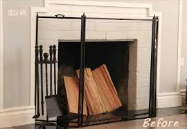uncategorized how to make fireplace screen how to make fireplace screen inside nice the top rhnsfinefoodcom