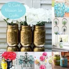 Cute Mason Jar Decorations 100 Cute Mason Jar Crafts Mason jar crafts Jar and Craft 2