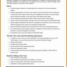 Tutor Resume Sample Updated Math Tutor Resume Sample New Astounding