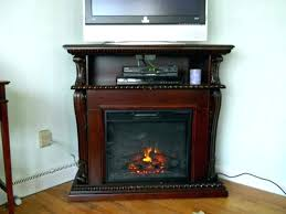 black corner stand electric fireplace stands with tall tv