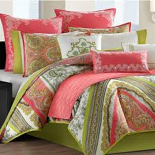 gramercy paisley twin cotton comforter set duvet style photo 1