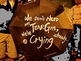 Image result for hong kong umbrella revolution, slogan, banner