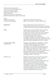 Sap Abap Resume Sample Resume Cosmetology Resume Sample Samples