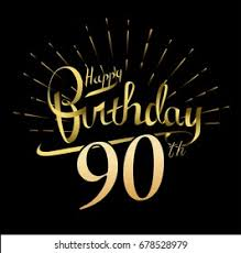 Happy 90th Birthday Images, Stock Photos & Vectors | Shutterstock