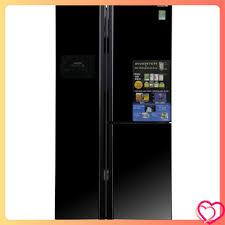 Tủ lạnh Hitachi side by side 2 cửa màu đen R-FS800GPGV2(GBK)