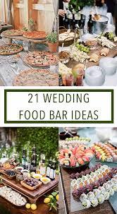 diy wedding dinner ideas. food bar ideas for your wedding diy dinner