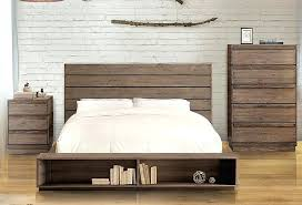 rustic platform beds with storage. Rustic Platform Bed With Drawers . Beds Storage