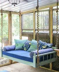 Amazingly Diy Patio And Garden Swings