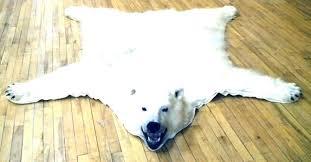 polar bear rug fake bear rug polar bear rug polar bear rug there is a in polar bear rug