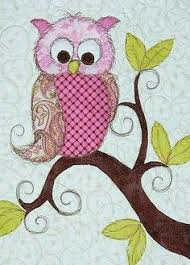 owl quilt blocks to make | This is such a cheerful quilt! I was ... & Quilting adds so much! Adamdwight.com