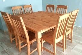 pine dining tables and chairs pine dining room table square pine dining room table 8 high