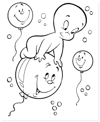 Coloring Pictures Of Ghosts To Color Printable Ghost Coloring Pages