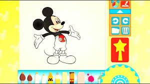 Free printable coloring pages disney mickey coloring sheets. Disney Mickey Mouse Coloring Pages App Color Play For Kids Youtube