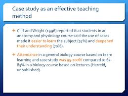 Analyzing case study issues  students receive a ready made solution that  can be applied in similar circumstances  Students increase their luggage of  schemes     SlideShare