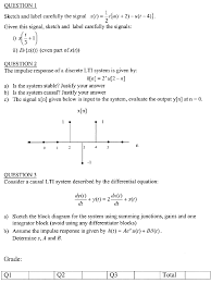 Signals And Systems Oppenheim Solutions E101 102 Advanced Systems Engineering