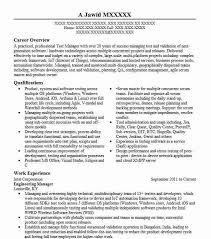 Director Engineering Resumes Engineering Manager Resume Sample Engineering Resumes
