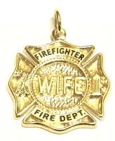 fire fighter wife jewelry firefighter wife badge jewelry