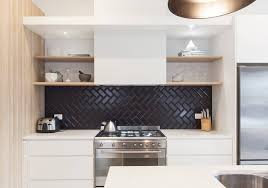 white and black kitchen backsplashes. Fine Kitchen Awesome Kitchen Backsplash Tile Ideas White Cabinets Artmicha Designs With  Unique The Sophisticated New Trend Get To And Black Backsplashes A