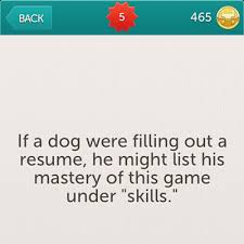 Fetch Little Riddles Answers Little Riddles Cheats. if a dog were to fill  out a resume ...