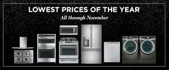 Deals On Kitchen Appliances Black Friday Deals Years Lowest Prices Ge Appliances