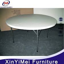 5 ft plastic folding table modern plastic banquet folding round dining table home renovation ideas