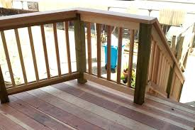 wood deck railing designs style new decoration awesome wood wood deck railing designs style diy deck