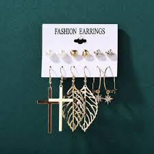 Bohemian Vintage Tassel Earrings Women Geometric Round ... - Vova