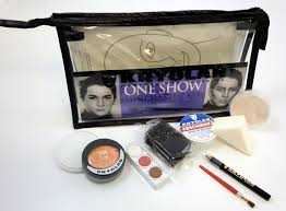 kryolan s one show theatrical makeup kit provides enough makeup for 10 to 12 performances