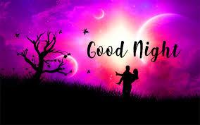 Good Night Images Wallpaper Pics Free Download Purple Sky