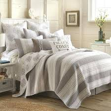 Raj Grey Full Queen Reversible Quilt Queen Coverlets Quilts Queen ... & ... Queen Size Quilts Coverlets Queen Size Quilts Bedspreads Levtex  Nantucket Quilt Set Grey 39775 Huf A ... Adamdwight.com