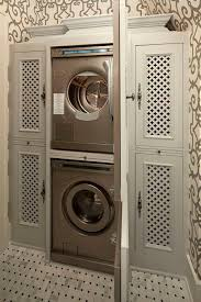 6x10 laundry room. iu0027d use different doors and wallpaper but this is a clever spacesaving laundry cabinet in hall bathroom or mud room 6x10 d