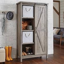 modern farmhouse furniture. better homes and gardens modern farmhouse storage cabinet rustic gray finish furniture e