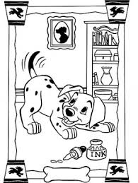 101 dalmatians coloring page 45 is a coloring page from 101 dalmatians coloring book let your children express their imagination when they color the 101