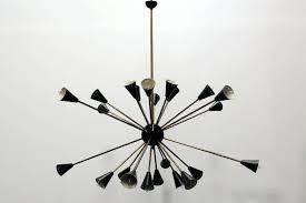 chandeliers black and gold chandelier design sputnik style of century for necklace