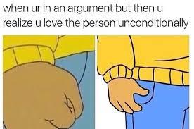 Image result for arguing relationship meme