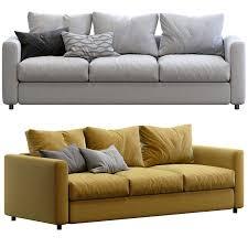 ikea vimle sofa 115830 3d model