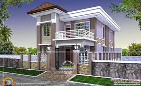 december kerala home design and floor plans duplex house exterior modern beautiful duplex house design beautiful