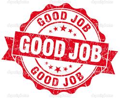 Résultats de recherche d'images pour «good job»