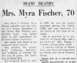 Mrs. Myra Fischer, 70 - Newspapers.com