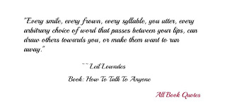 Quotes From Leil Lowndes 'How To Talk To Anyone' Stunning Friendship Tit For Tat Quotes